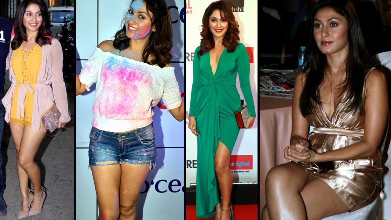 Bollywood actress Manjari Fadinis hot Legs n upskirt photos