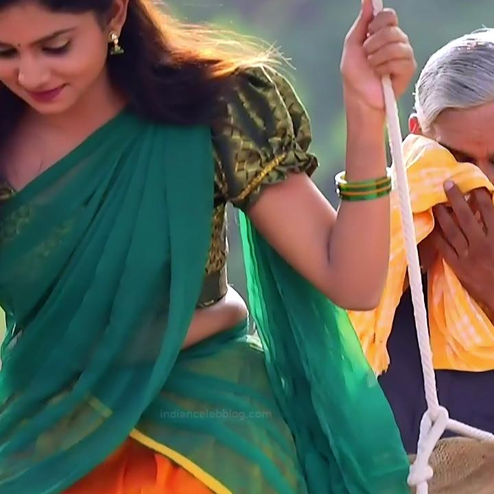 Raksha Gowda Kannada TV serial actress PutMS1 9 Saree Photo