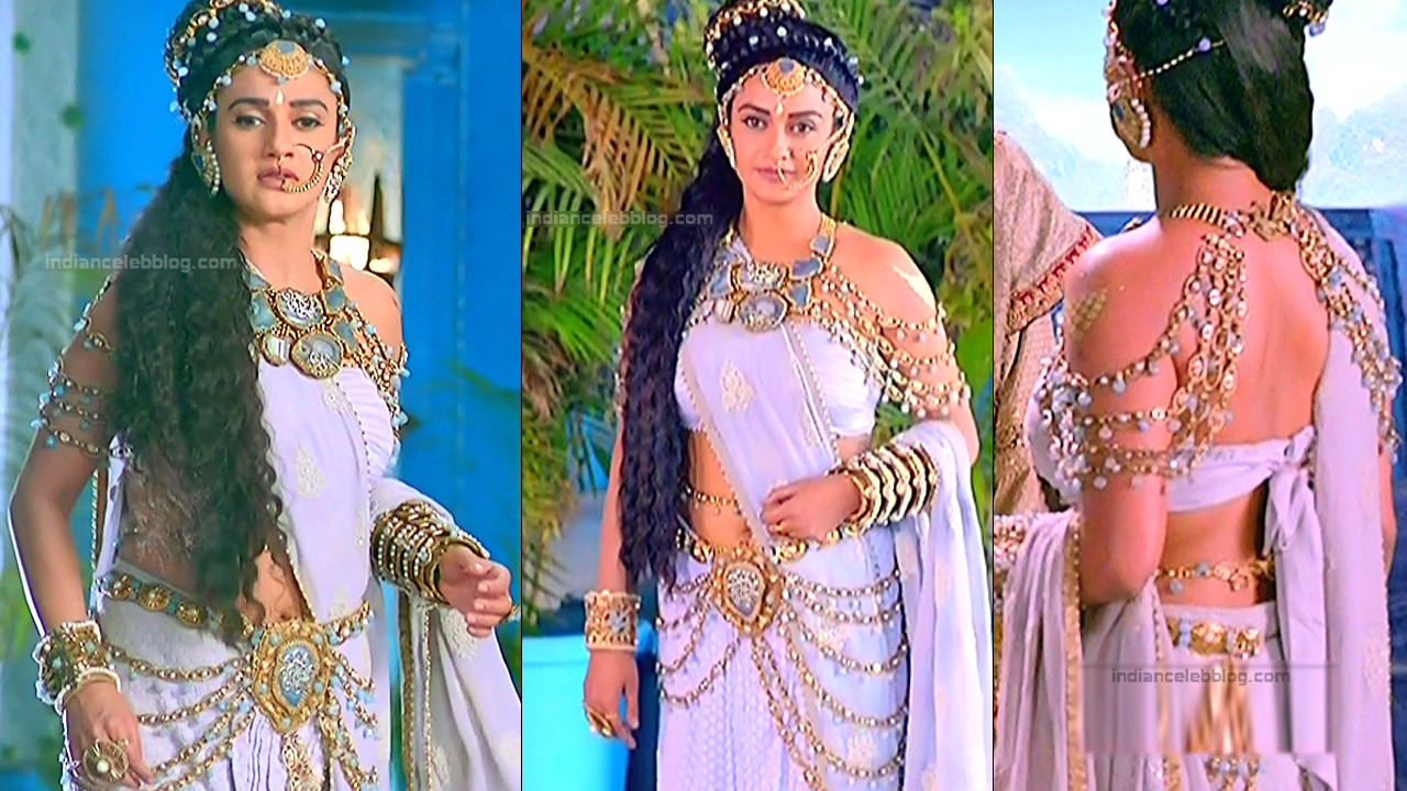 Rati Pandey serial actress caps from Porus telly show