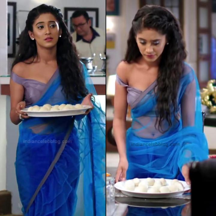 Shivangi Joshi Hindi TV Actress YehRKKH-S2 hot saree photos_14