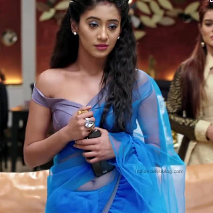 Shivangi Joshi Hindi TV Actress YehRKKH-S2 hot saree photos_15