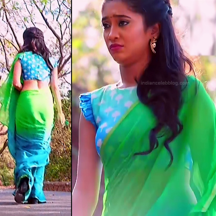 Shivangi Joshi Hindi TV Actress YehRKKH-S2 hot saree photos_2