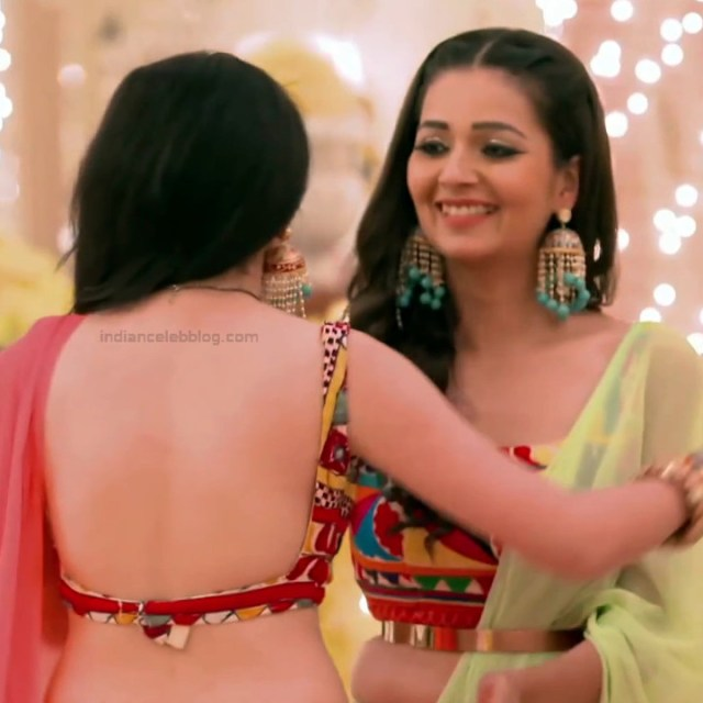 Shrenu Parikh_Hindi TV Actress Ishqbaaz S3_18_Hot Lehenga Pics