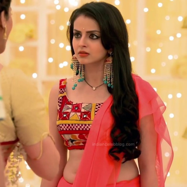Shrenu Parikh_Hindi TV Actress Ishqbaaz S3_20_Hot Lehenga Pics