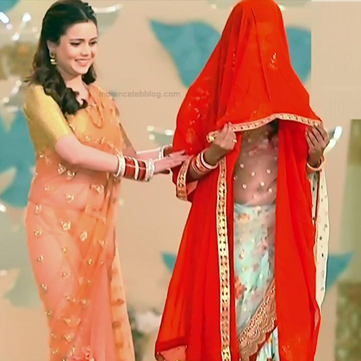 Shruti Kanwar Hindi TV Actress Savitri college S1 16 Hot saree pics