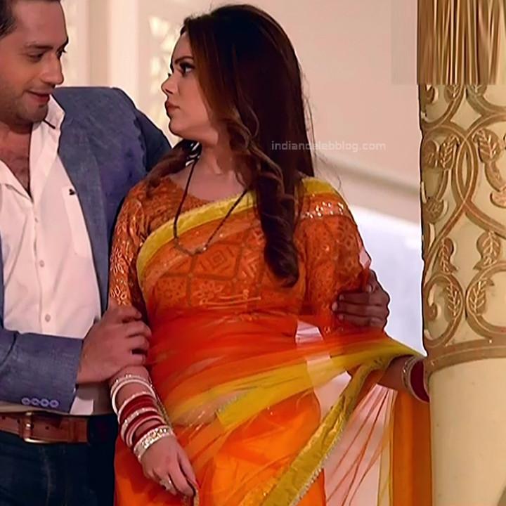 Shruti Kanwar Hindi TV Actress Savitri college S1 21 Hot saree pics