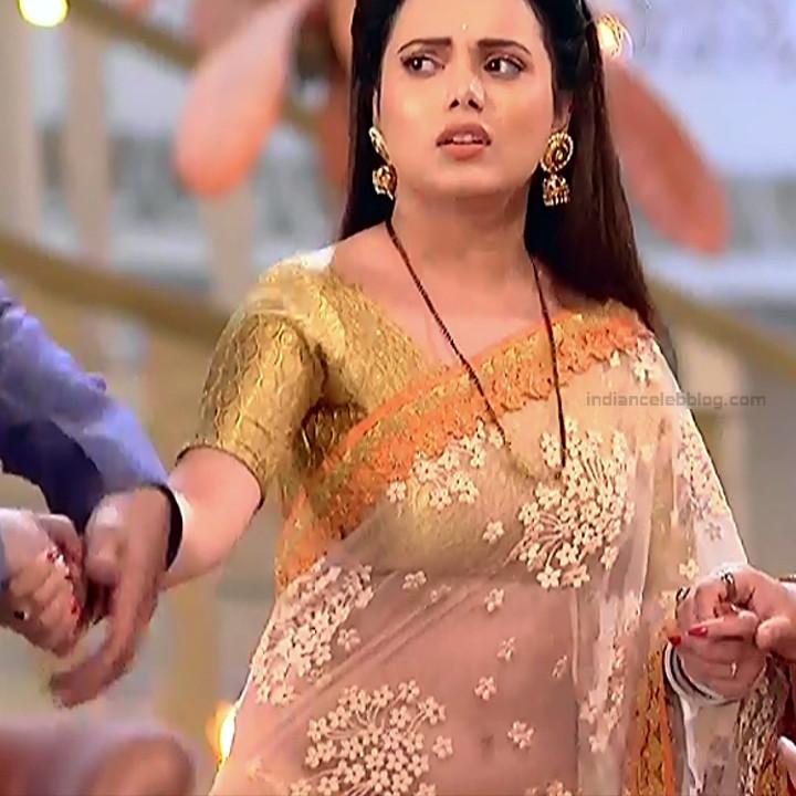Shruti Kanwar Hindi TV Actress Savitri college S1 25 Hot saree pics