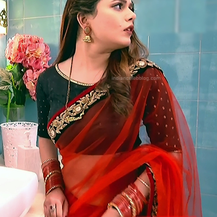 Shruti Kanwar Hindi TV Actress Savitri college S1 4 Hot saree pics