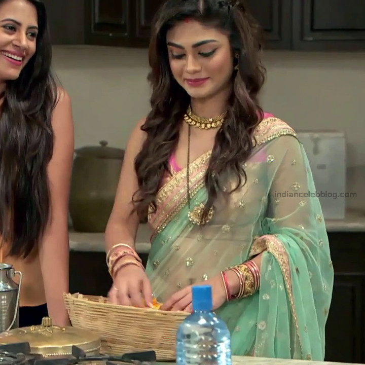 Sreejita De Hindi TV Actress Tumhi HBST-S1 13 Hot saree pics