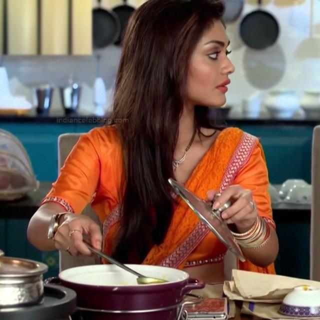 Sreejita De Hindi TV Actress Tumhi HBST-S1 7 Hot saree pics