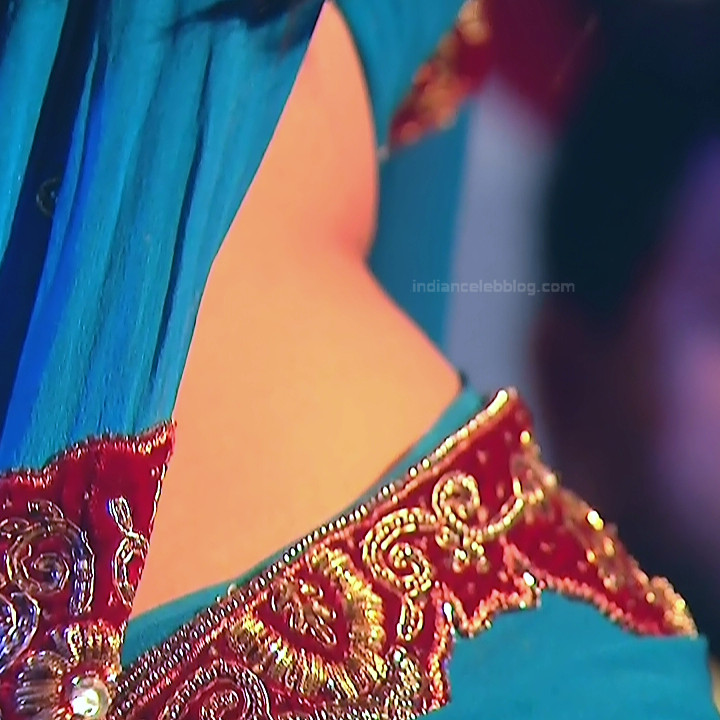Aishwarya Meghana Telugu serial actress AgniSS1 4 hot saree caps