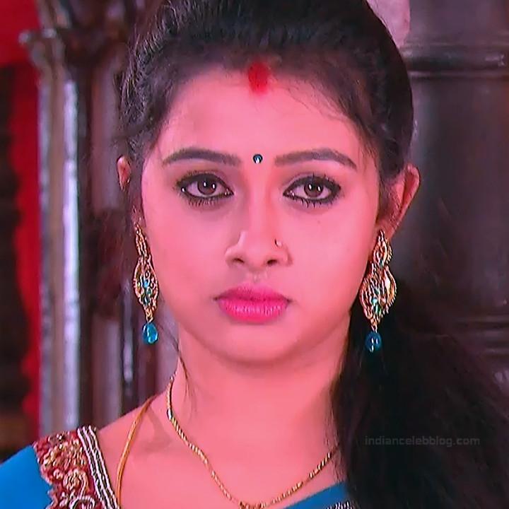 Aishwarya Meghana Telugu serial actress AgniSS1 9 hot saree pics