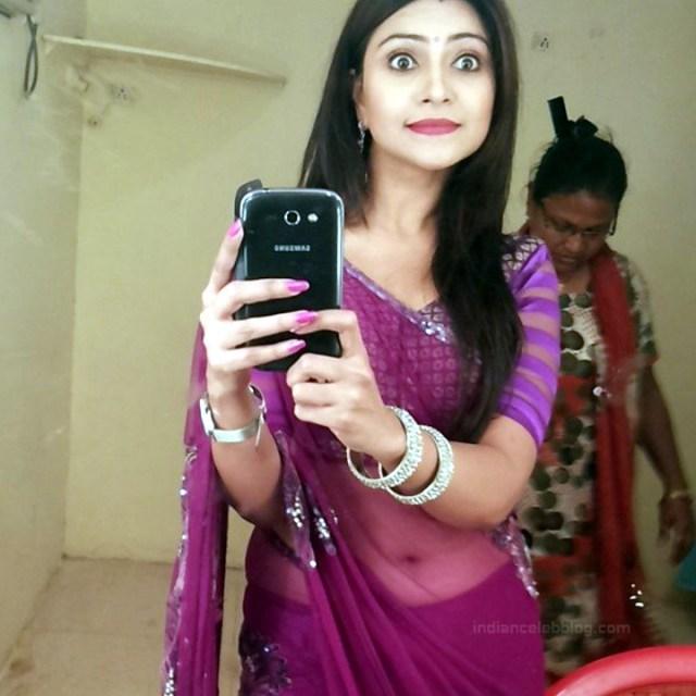 Aleeza Khan 031 Hindi TV Actress hot saree pic