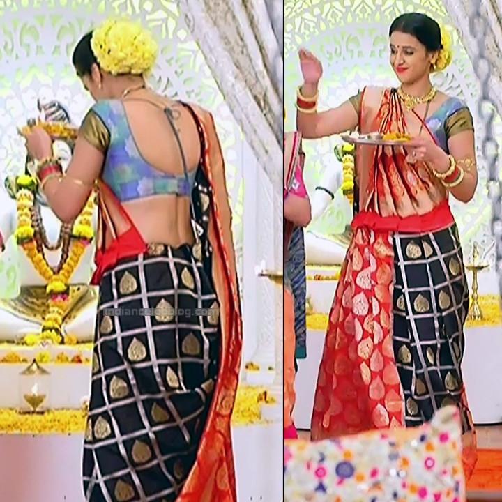 Astha Agarwal Hindi TV Actress KyaHMPS1 11 hot saree pics