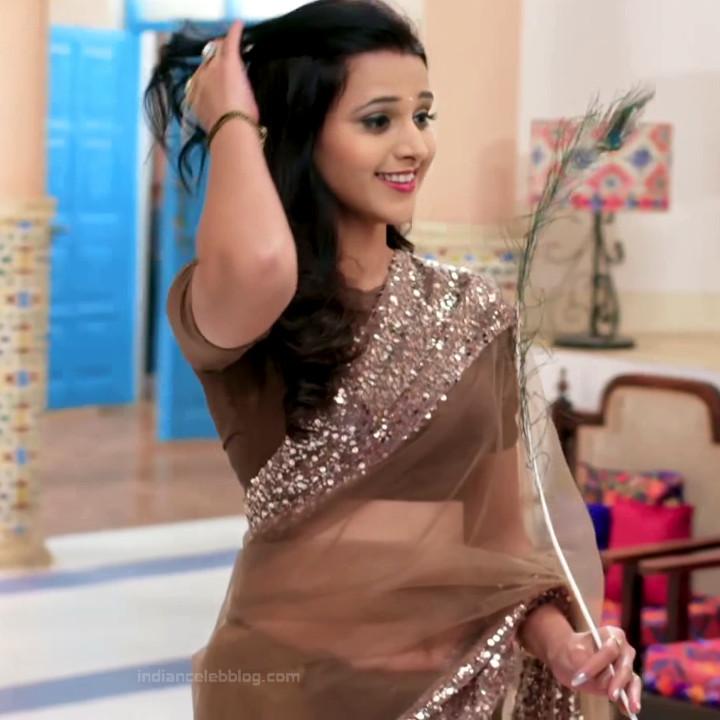 Astha Agarwal Hindi TV Actress KyaHMPS1 16 hot sari photos