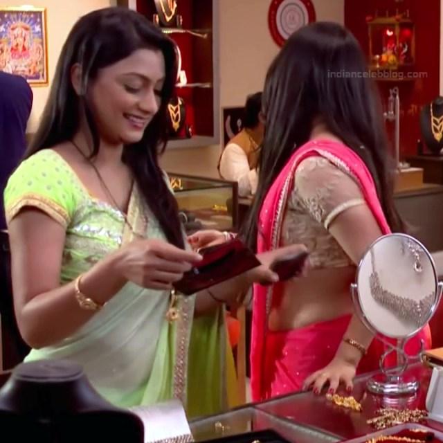 Chandni Bhagwanani Hindi TV Actress Tumhi HBSTS2 17 hot sari caps