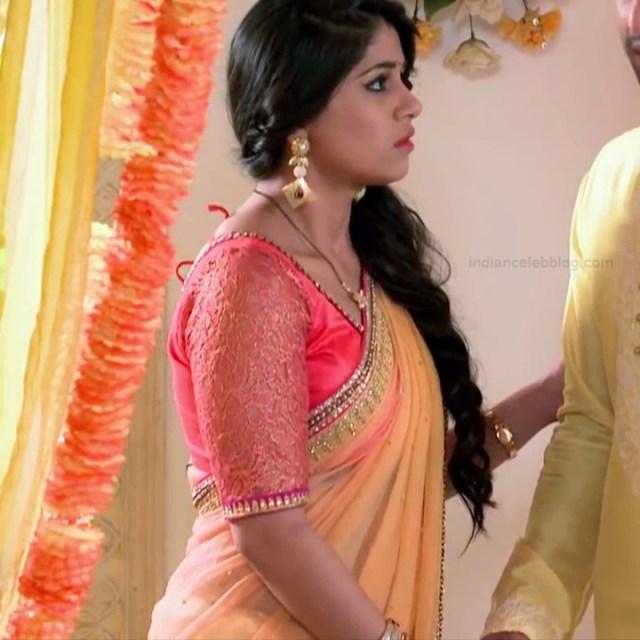 Chandni Bhagwanani Hindi TV Actress Tumhi HBSTS2 22 hot sari caps
