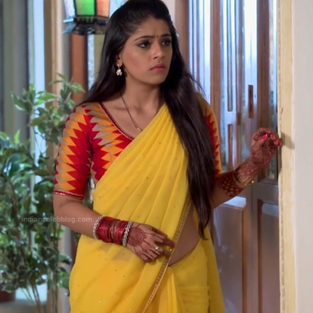 Chandni Bhagwanani Hindi TV Actress Tumhi HBSTS2 23 hot sari caps
