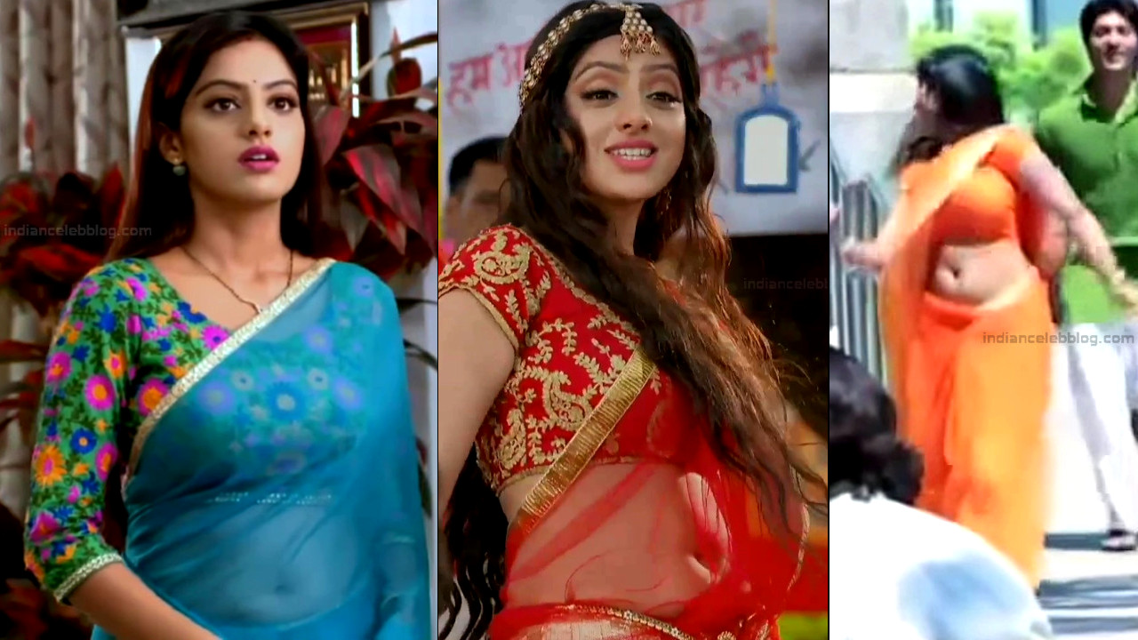Deepika Singh Hindi TV Actress YTD S1 16 Hot saree caps