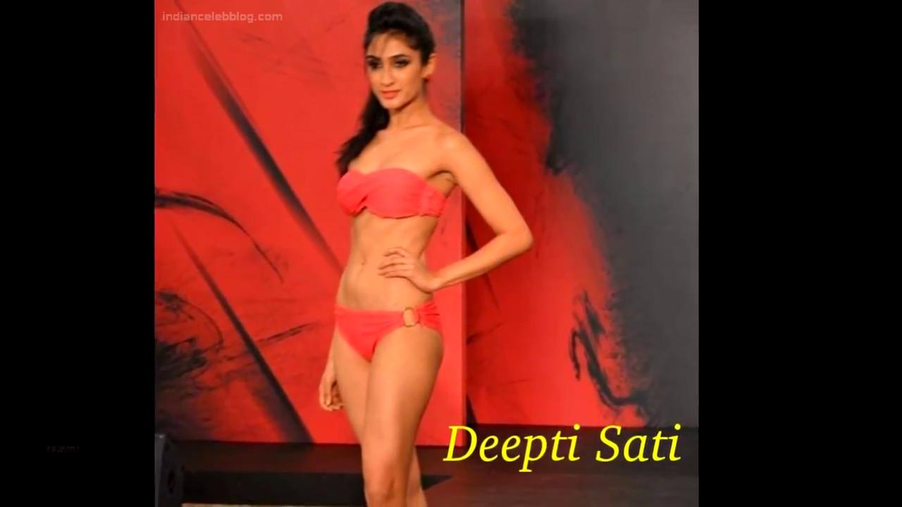 Deepti Sati Miss India 2014 Swimsuit round Pics