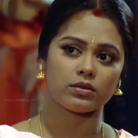 Devi priya Tamil TV actress VKCompS1 2 hot saree caps