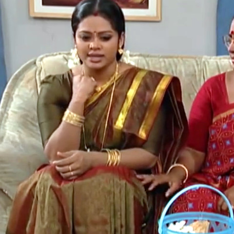 Devipriya Tamil TV actress VKCompS1 14 hot saree caps