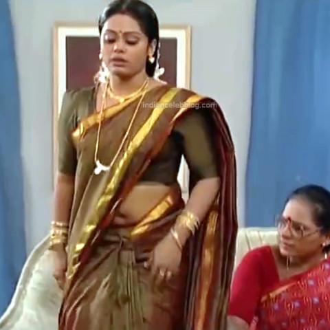 Devipriya Tamil TV actress VKCompS1 15 hot saree caps