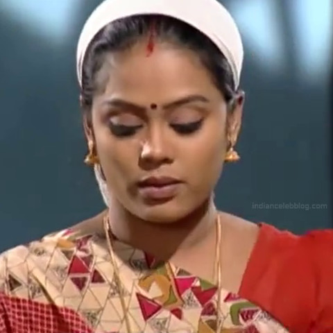 Devipriya Tamil TV actress VKCompS1 5 hot saree caps
