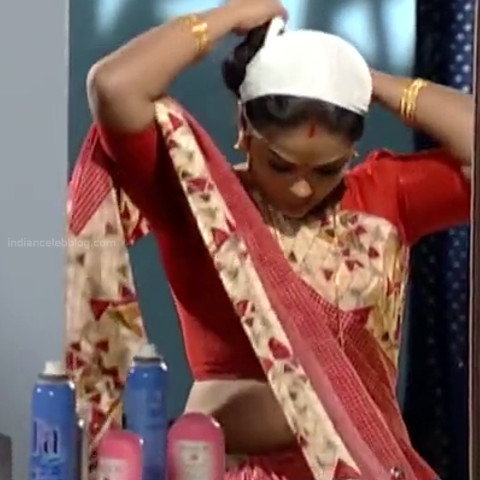 Devipriya Tamil TV actress VKCompS1 6 hot saree caps