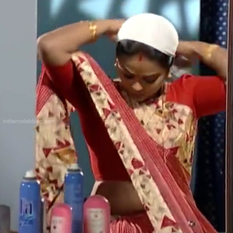 Devipriya Tamil TV actress VKCompS1 7 hot saree caps