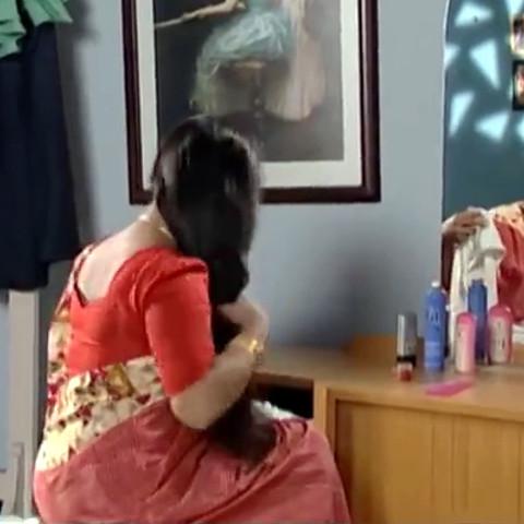 Devipriya Tamil TV actress VKCompS1 8 hot saree caps