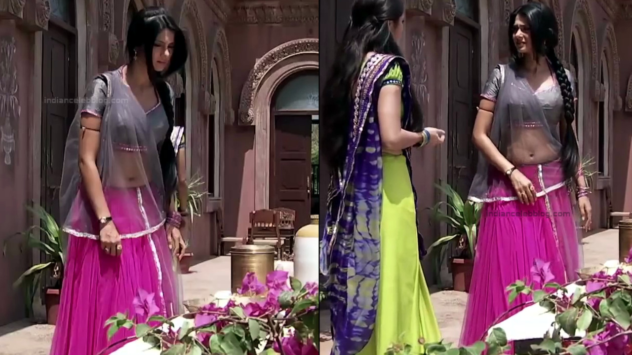 Jennifer Winget Hindi TV Actress YTDS2 8 Hot Lehenga Choli pics