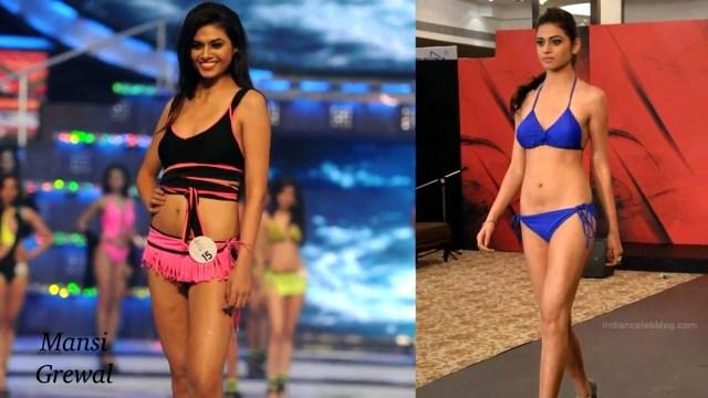Mansi Grewal Miss India 2014 Swimsuit Round Pics