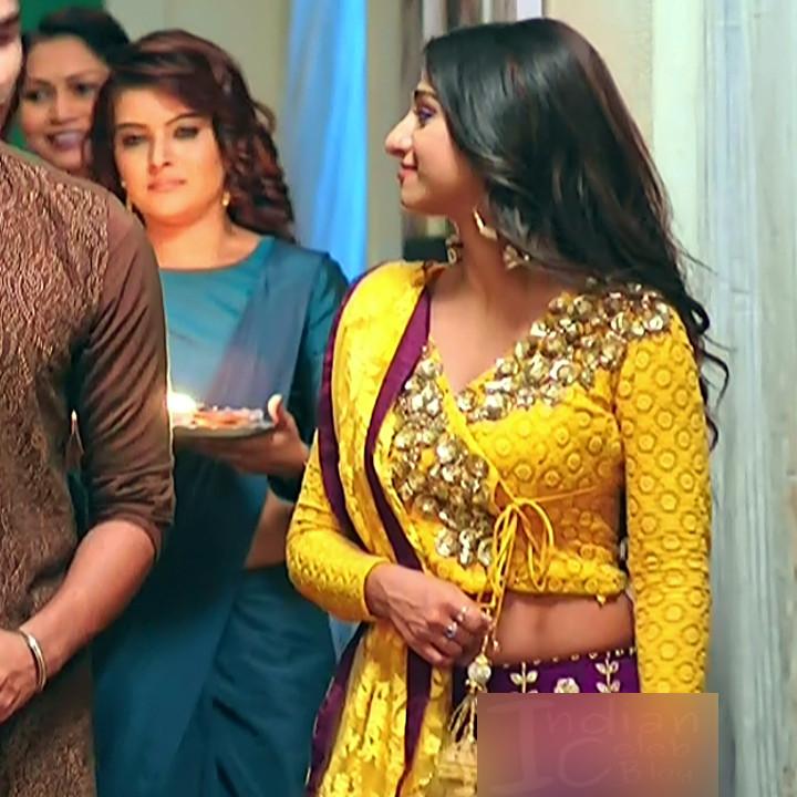 Mohena singh hindi serial actress Yeh RKKHS3 12 hot lehenga photos