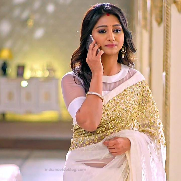 Mohena singh hindi serial actress Yeh RKKHS3 5 hot saree pics