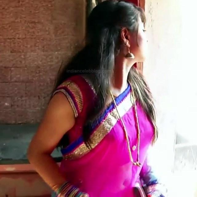 Nagashree Tamil TV Actress Chandralekha S1 17 hot saree photo