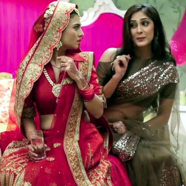 Reena Agarwal hindi TV actress KyaHMPS1 9 hot saree pics