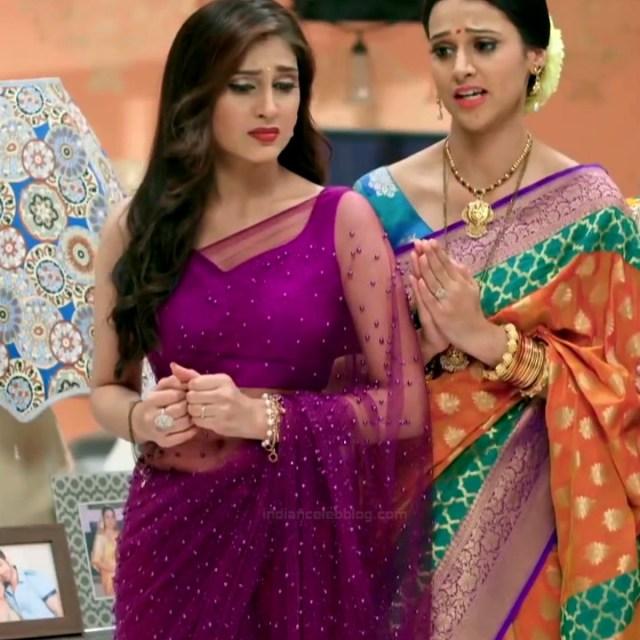 Reena Aggarwal hindi TV actress KyaHMPS1 17 hot saree pics