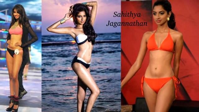 Sahithya Jagannathan Miss India 2014 Swimsuit Round Pics
