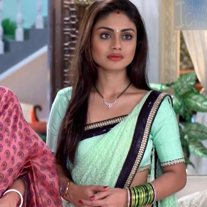 Sreejita De Hindi TV Actress TumhiHBS2 9 Hot Saree Photo