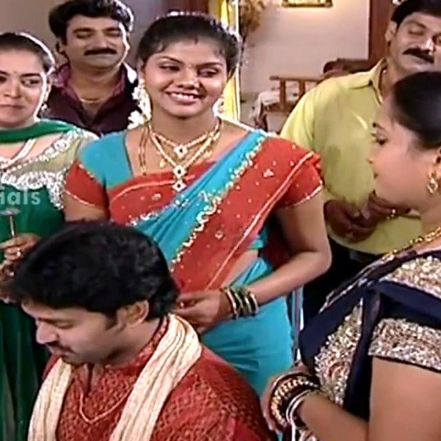 Telugu TV Actress Maa Nanna Art1-S1 17 Hot Saree Caps