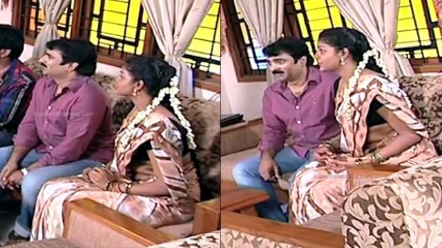 Telugu TV Actress Maa Nanna Art1-S1 8 Hot Saree Caps