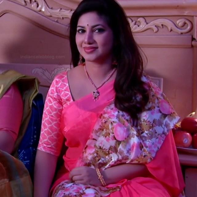 Telugu TV serial mature actress Comp2 5 hot saree photo