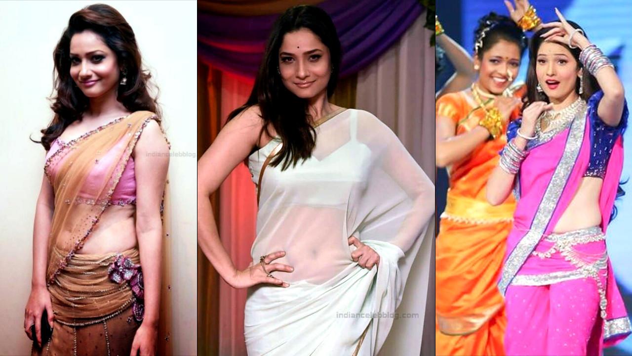 Ankita Lokhande hot saree photos - Image gallery