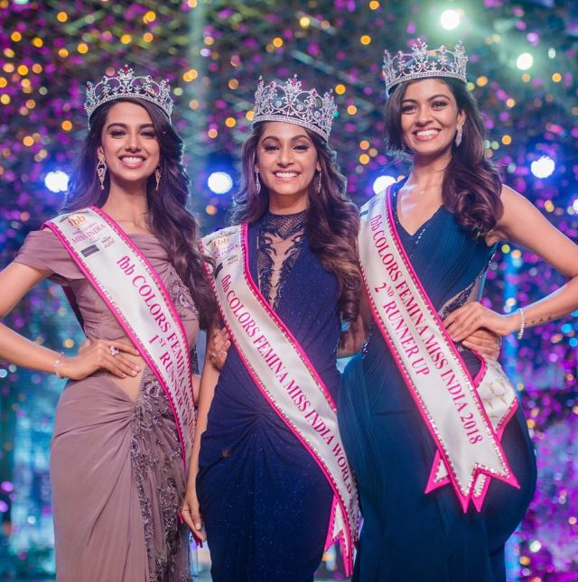 Anukreethy Vas Miss India 2018 Final 12