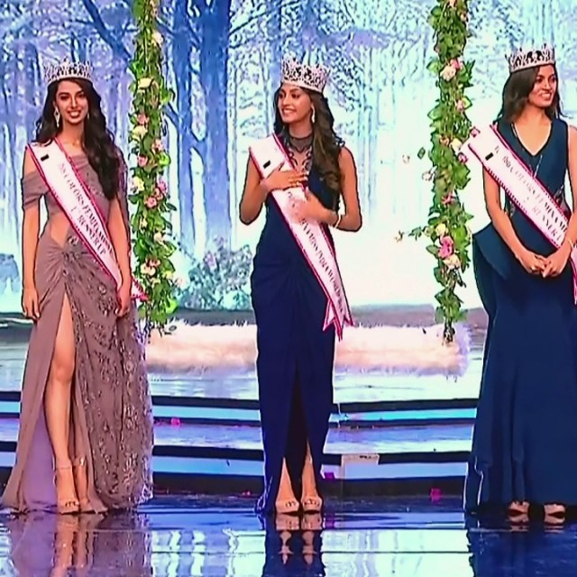 Anukreethy Vas Miss India 2018 Final 13