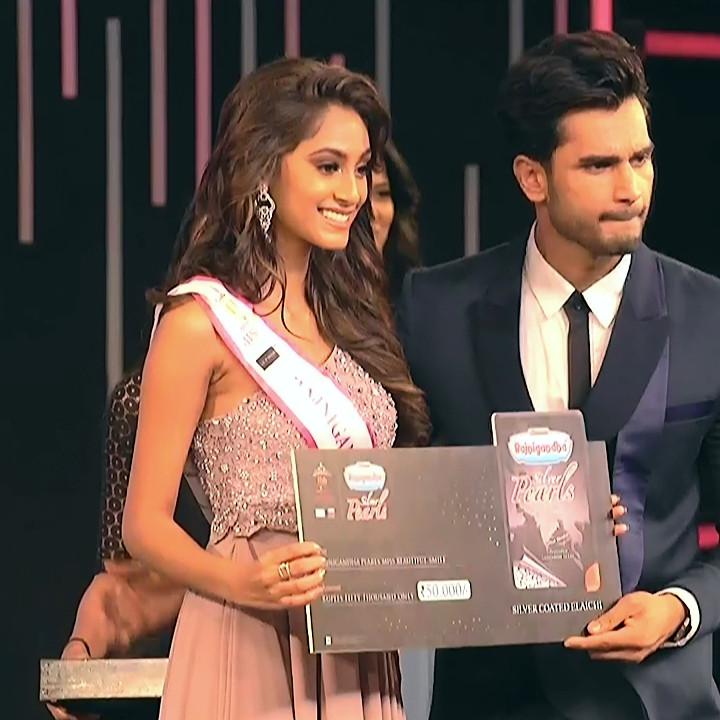 Anukreethy Vas Miss India 2018 Final 15