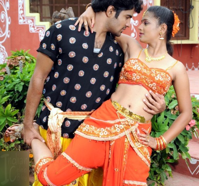 Anusri Telugu TV Gandikotalo movie stills 13