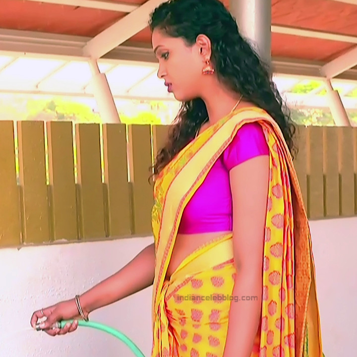 Apoorva Bharadwaj Kannada Serial Sathyam SSS1 1 hot saree photo