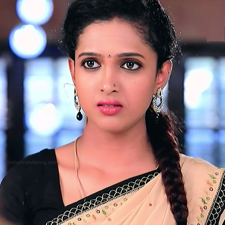 Apoorva Bharadwaj Kannada Serial Sathyam SSS1 21 hot saree photo